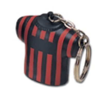Image of Stress Football Shirt Keyring