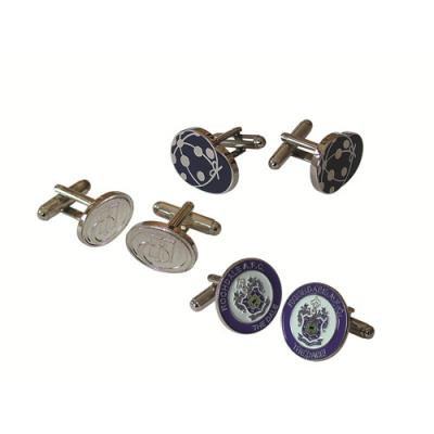 Image of Metal Relief Cufflinks