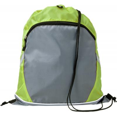 Image of Polyester (210D) drawstring backpack