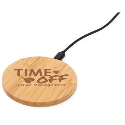 Image of Essence Bamboo Wireless Charging Pad